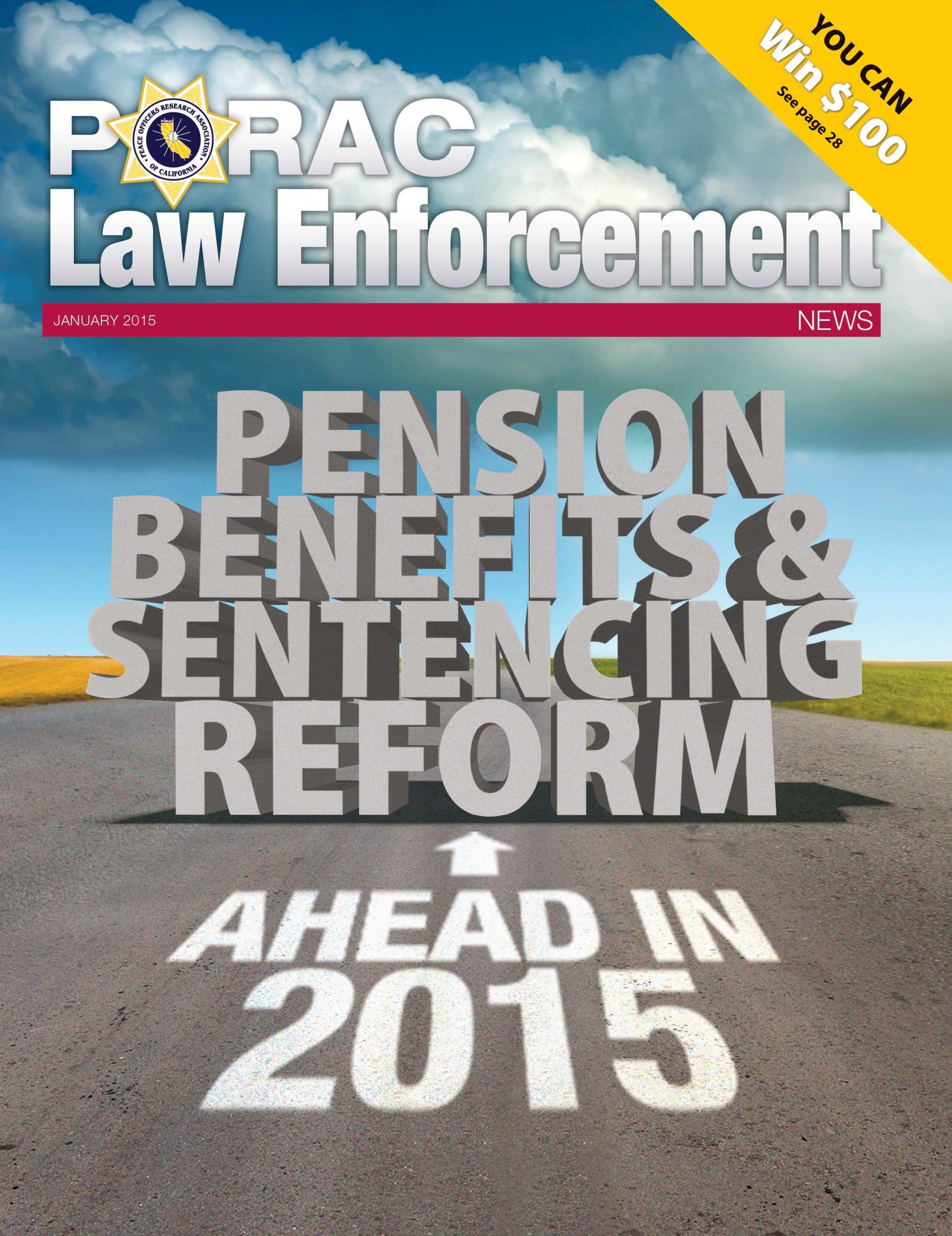 PORAC Law Enforcement News – January 2015