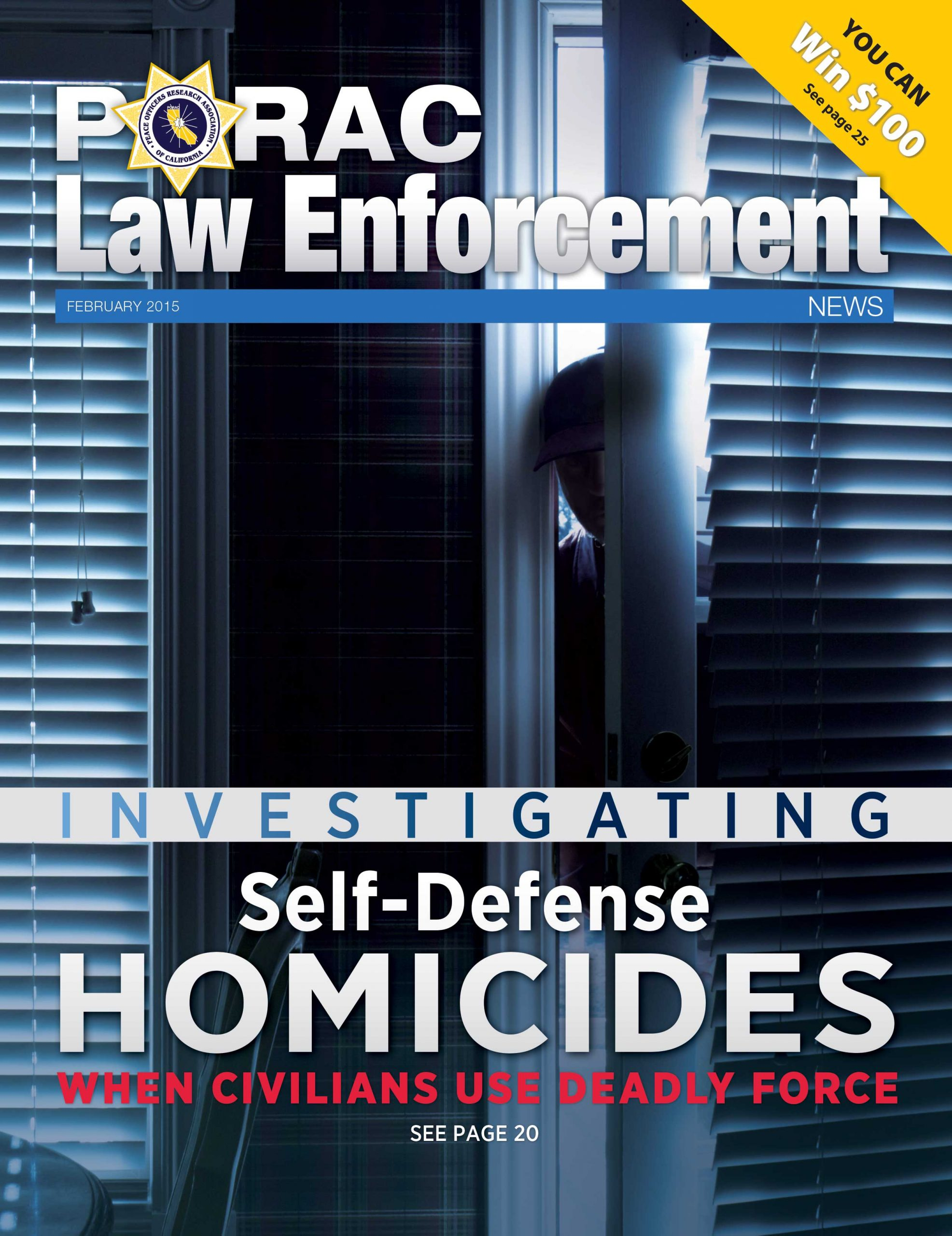 PORAC Law Enforcement News – February 2015