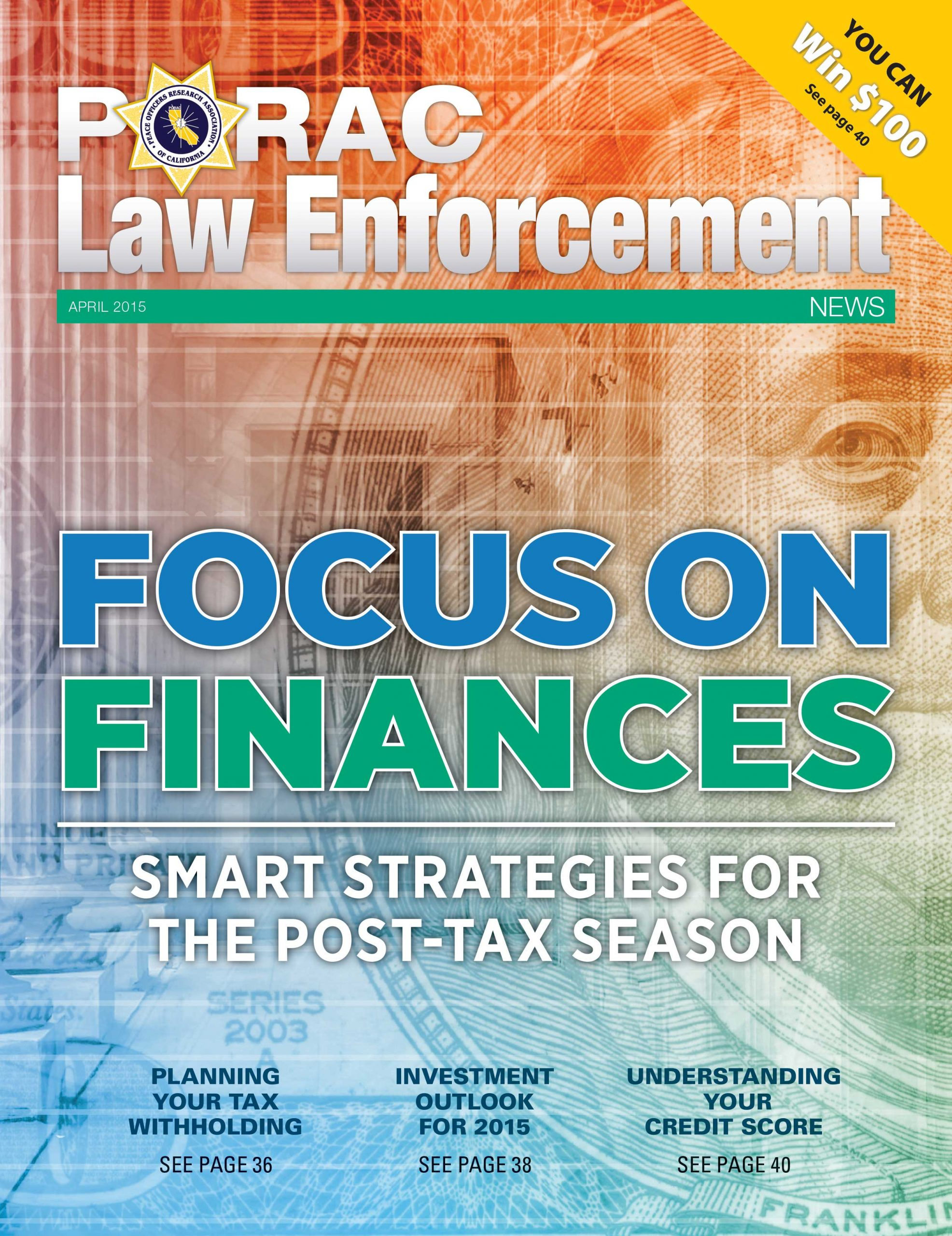 PORAC Law Enforcement News –  April 2015
