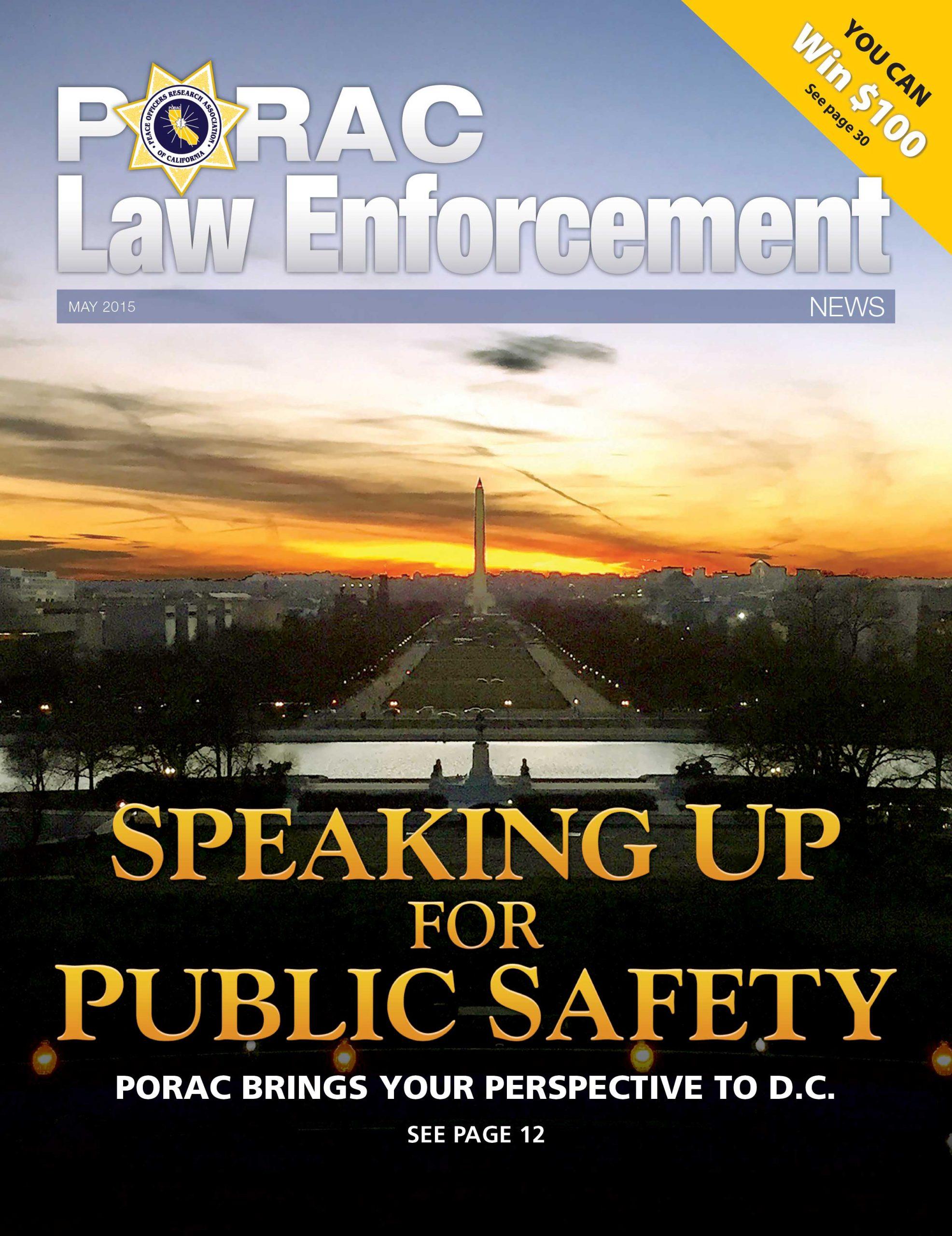 PORAC Law Enforcement News – May 2015