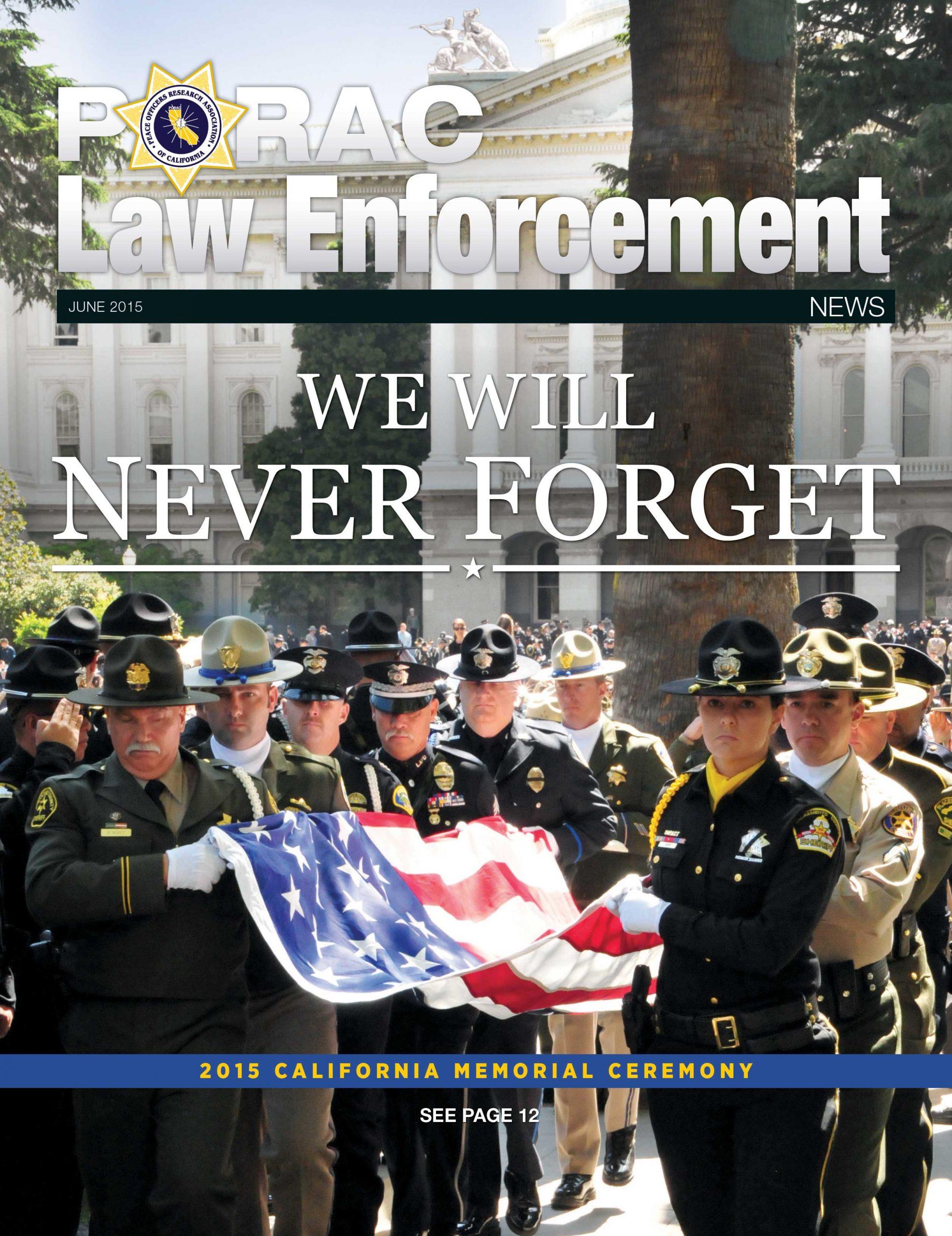 PORAC Law Enforcement News – June 2015