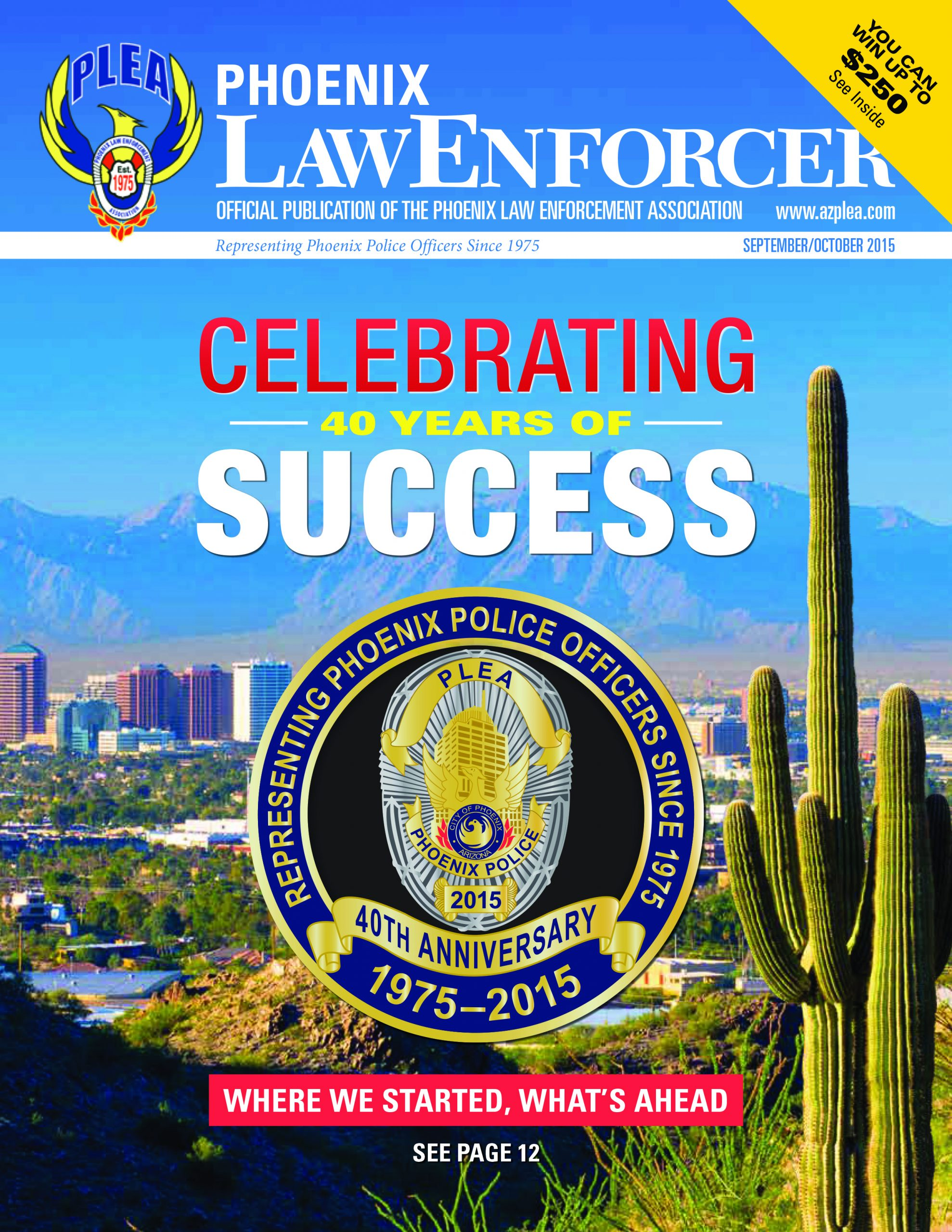 Phoenix Law Enforcer – September/October 2015