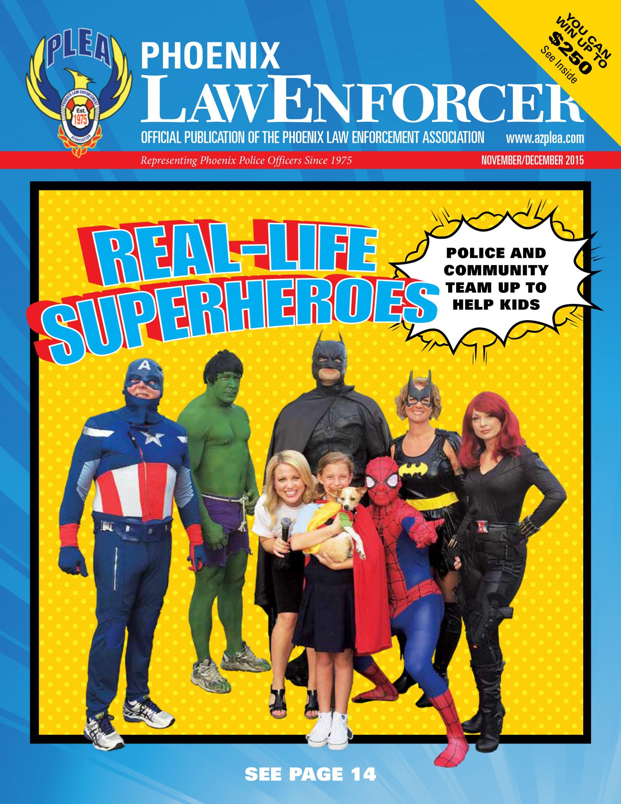 Phoenix Law Enforcer – November/December 2015