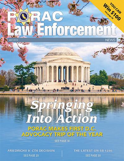 PORAC Law Enforcement News – May 2016