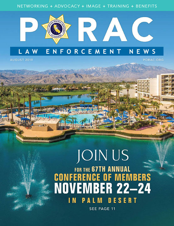 PORAC Law Enforcement News – August 2019