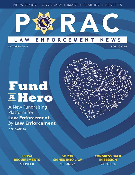 PORAC Law Enforcement News – October 2019