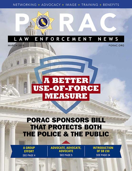 PORAC Law Enforcement News – March 2019