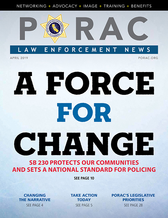 PORAC Law Enforcement News – April 2019
