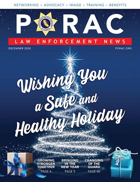 PORAC Law Enforcement News – December 2020