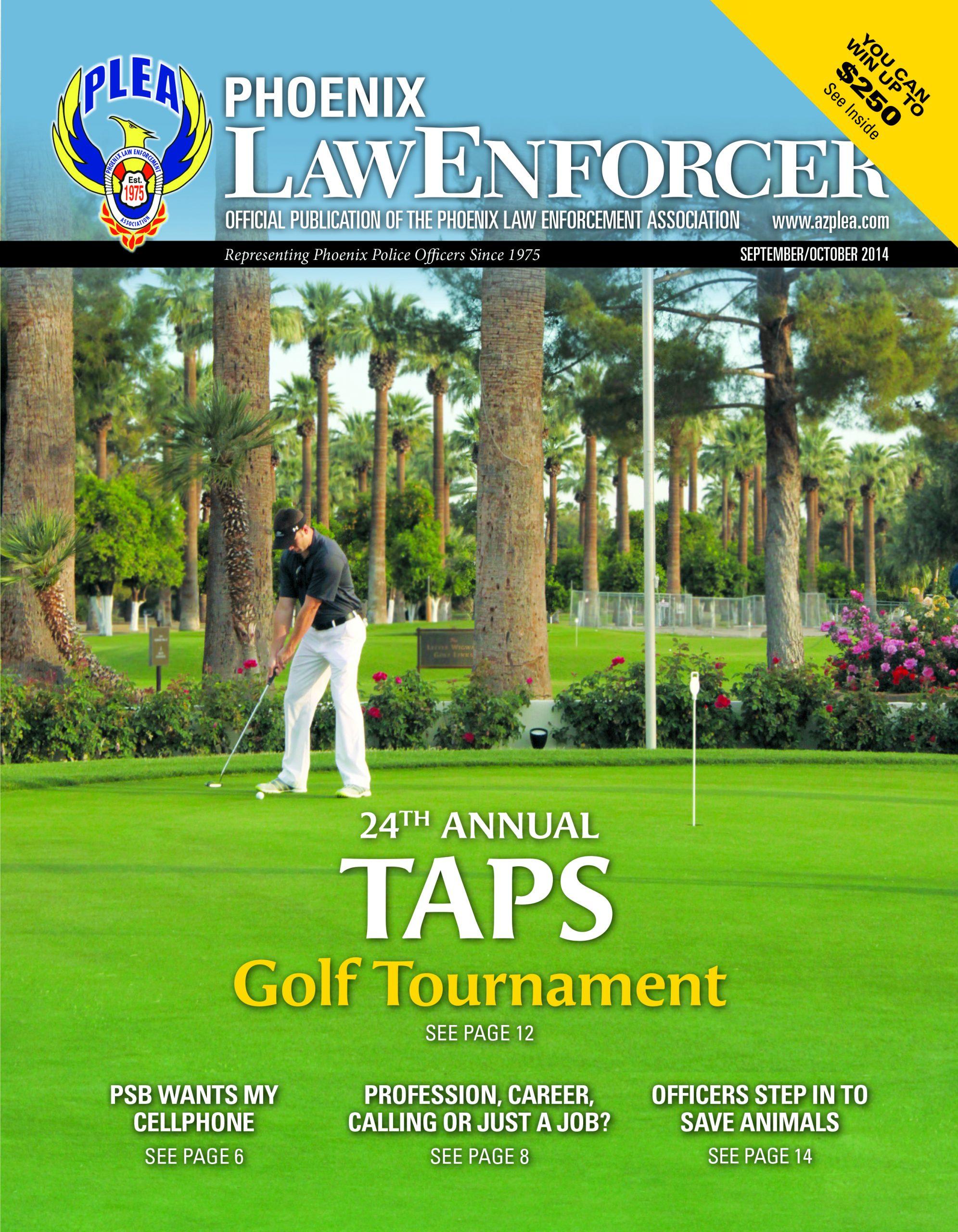 Phoenix Law Enforcer –September/October 2014