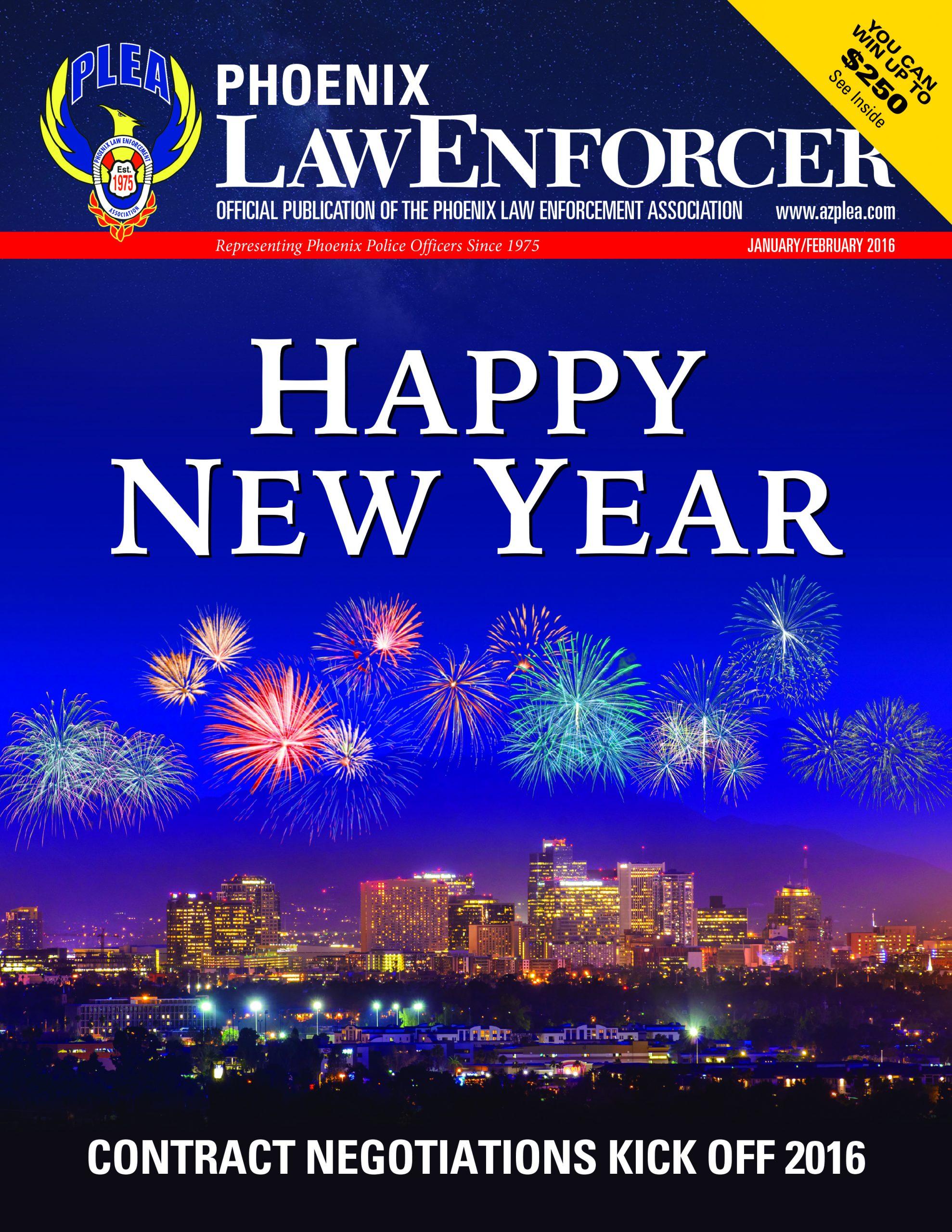 Phoenix Law Enforcer – January/February 2016