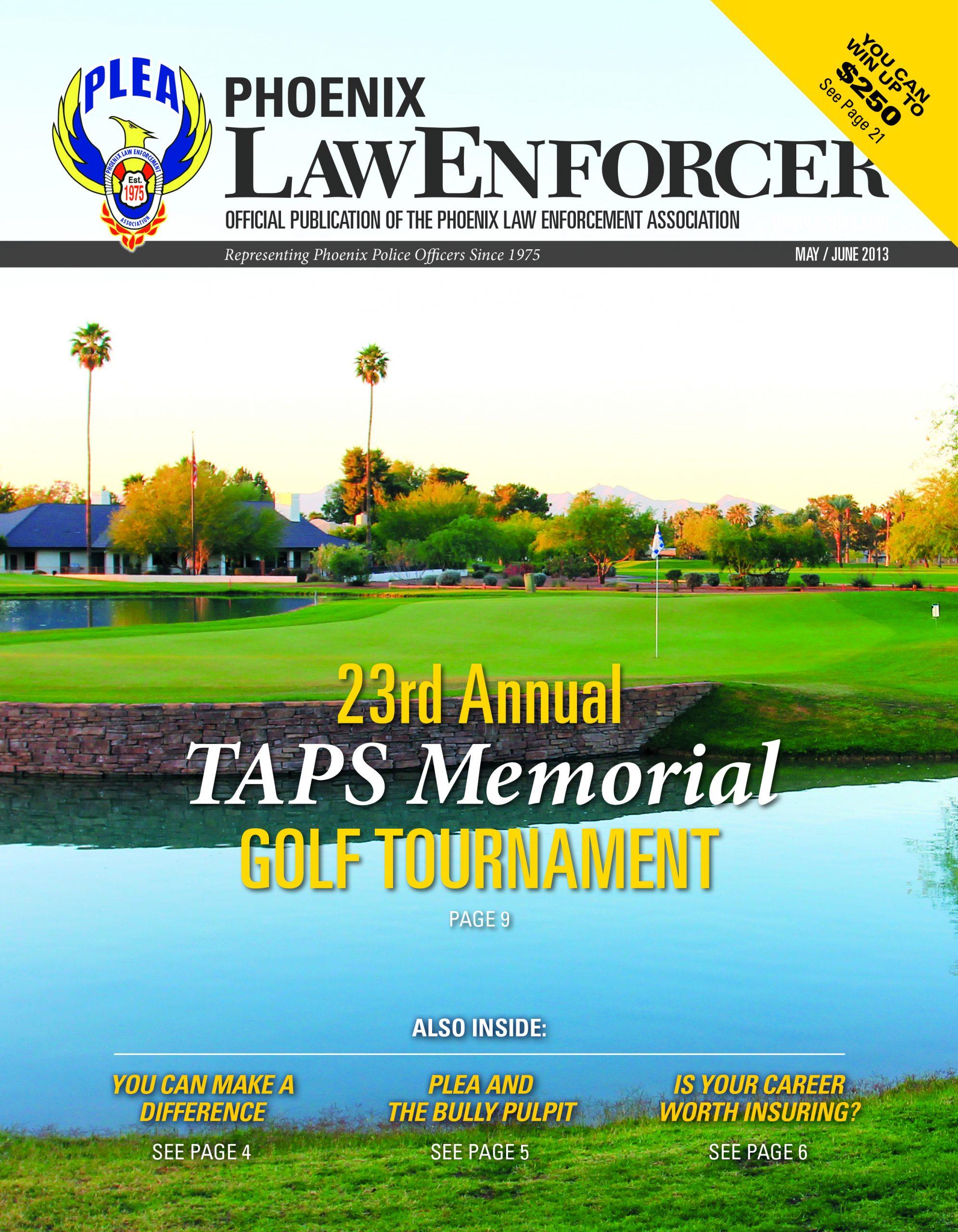 Phoenix Law Enforcer –May/June 2013