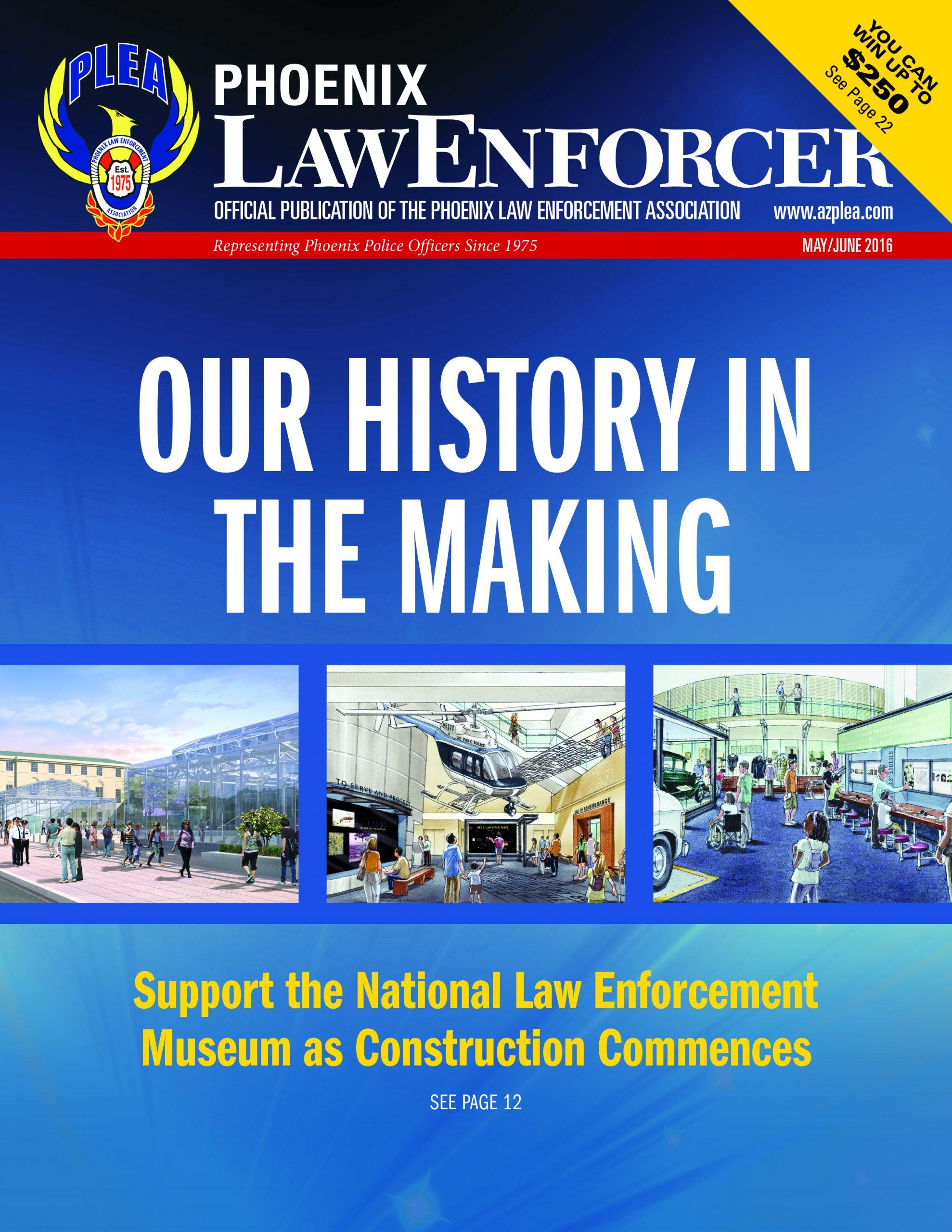 Phoenix Law Enforcer – May/June 2016