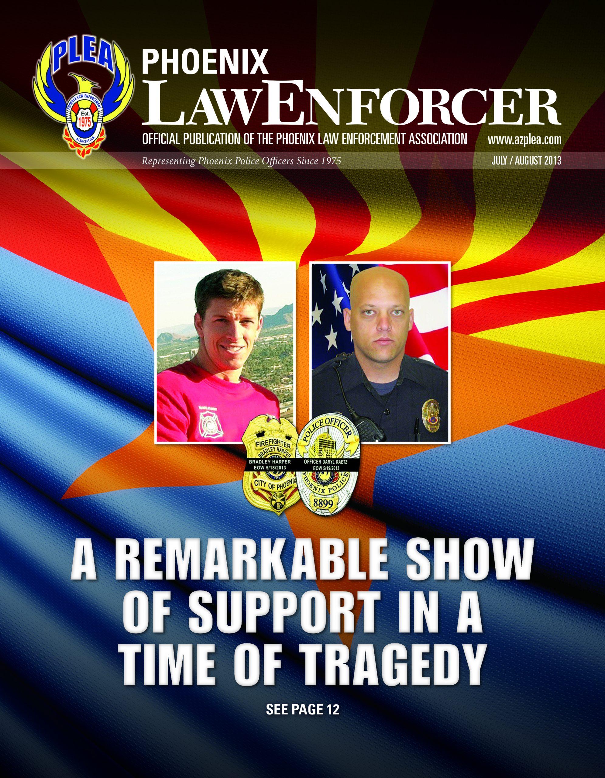 Phoenix Law Enforcer –July/August 2013