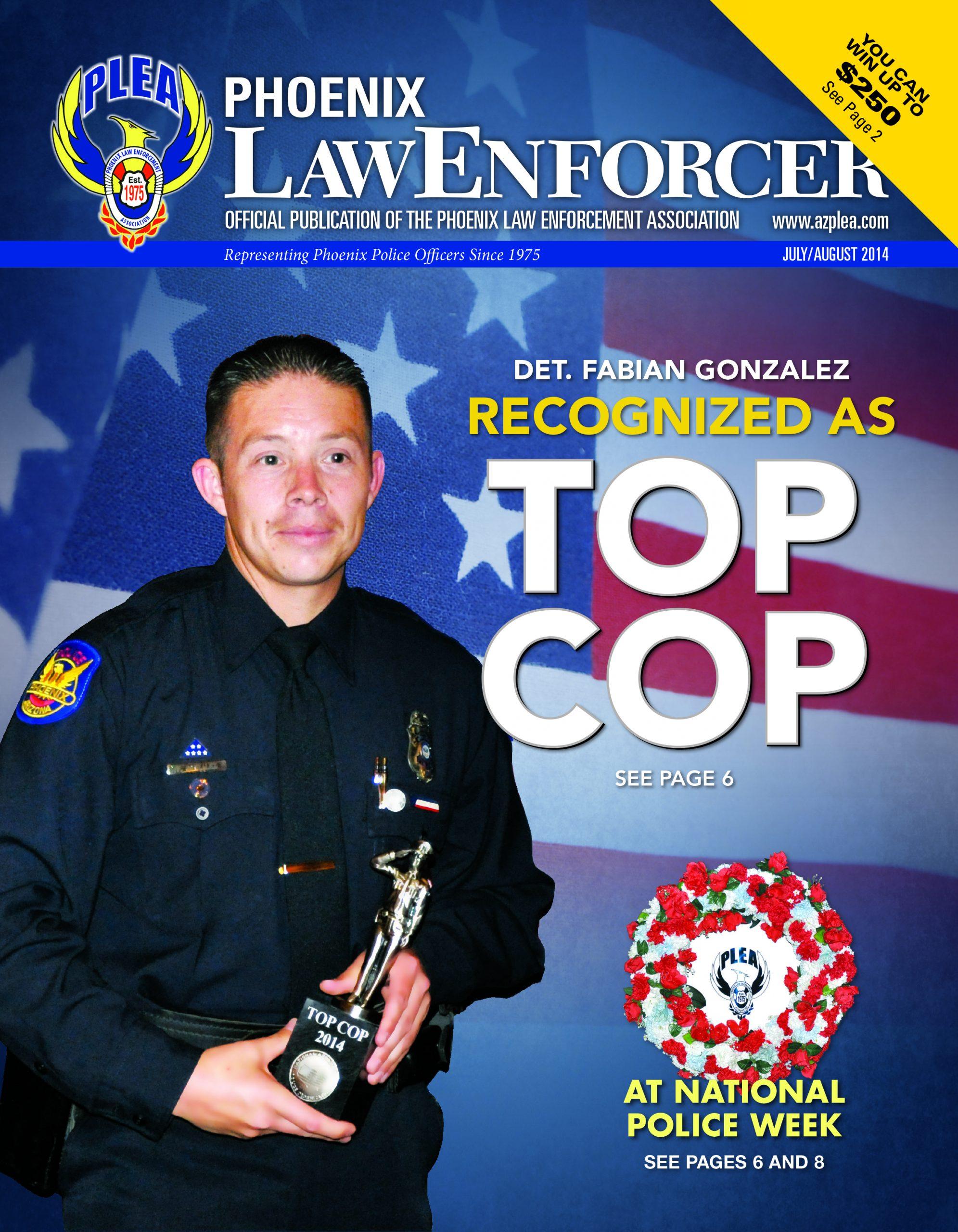Phoenix Law Enforcer –July/August 2014