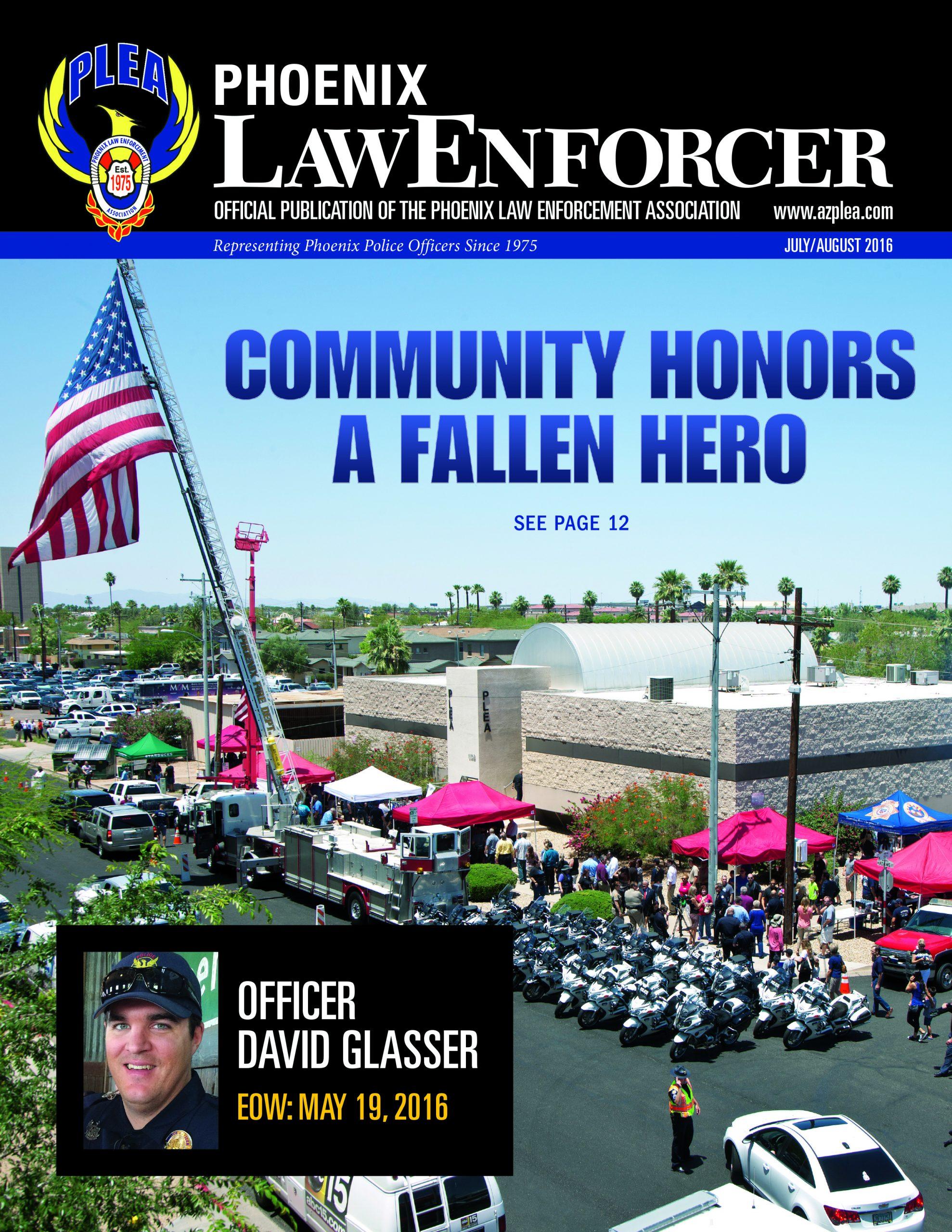 Phoenix Law Enforcer –July/August 2016