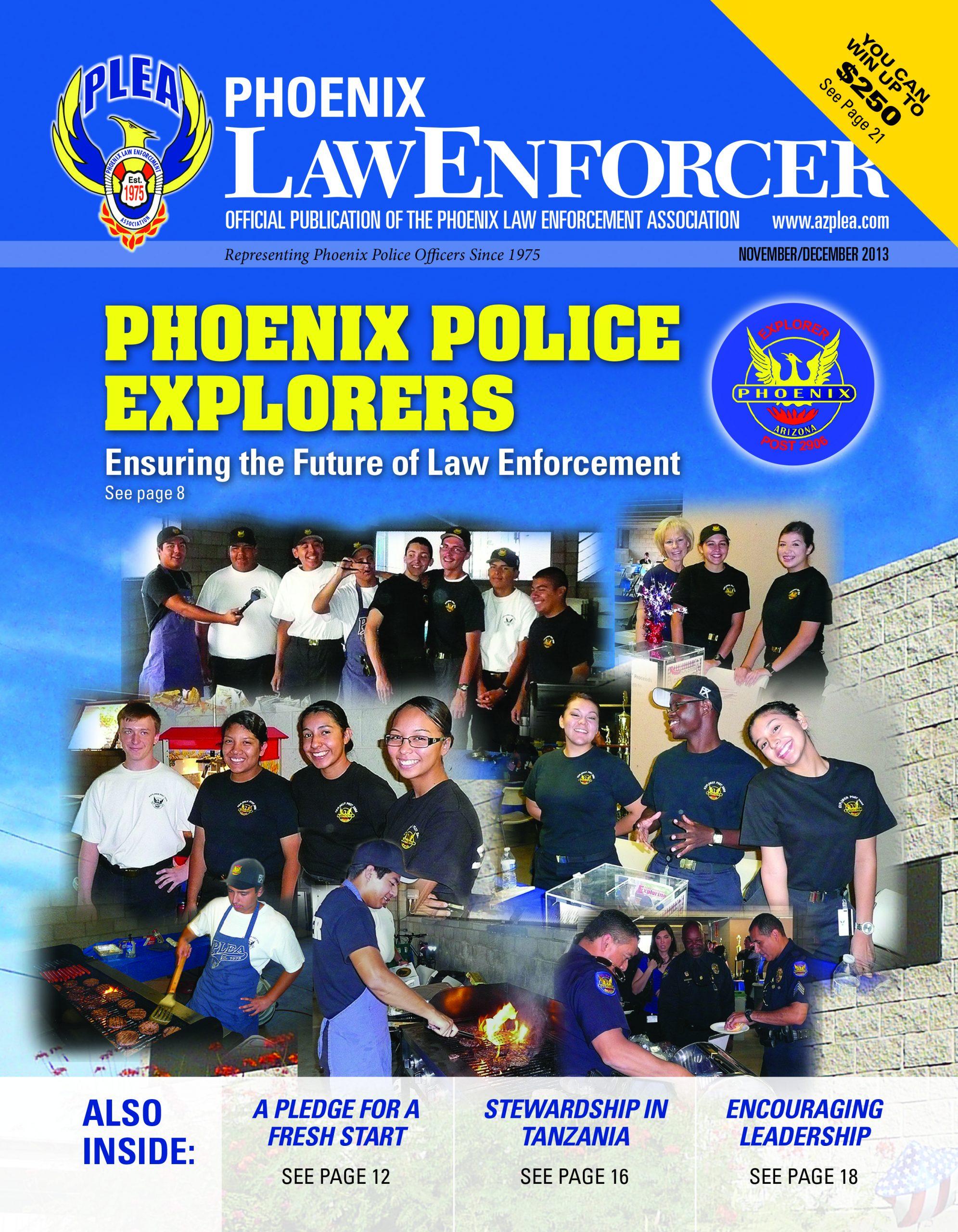 Phoenix Law Enforcer –November/December 2013