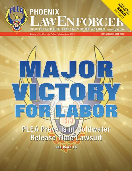 Phoenix Law Enforcer –November/December 2016