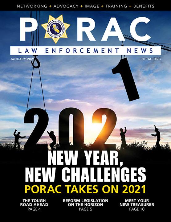 PORAC Law Enforcement News – January 2021