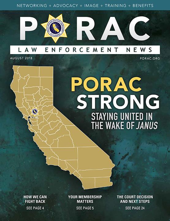 PORAC Law Enforcement News – August 2018