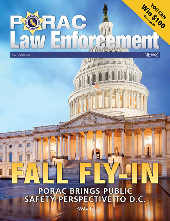 PORAC Law Enforcement News – October 2017