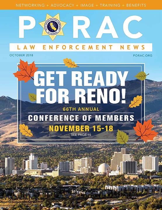 PORAC Law Enforcement News – October 2018