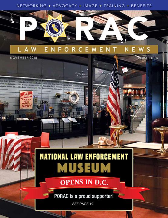 PORAC Law Enforcement News – November 2018