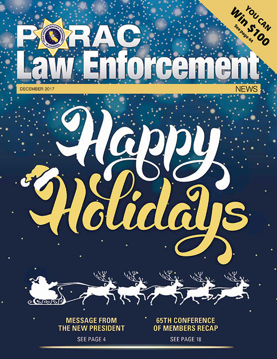 PORAC Law Enforcement News – December 2017