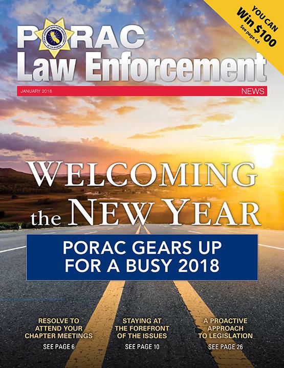 PORAC Law Enforcement News – January 2018