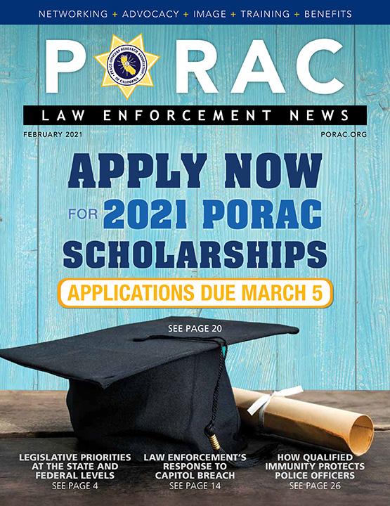 PORAC Law Enforcement News – February 2021