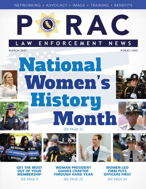 PORAC Law Enforcement News – March 2021