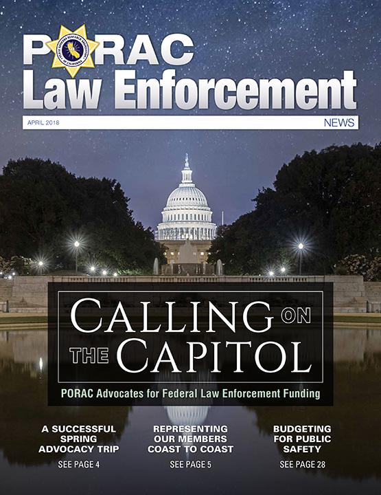 PORAC Law Enforcement News – April 2018
