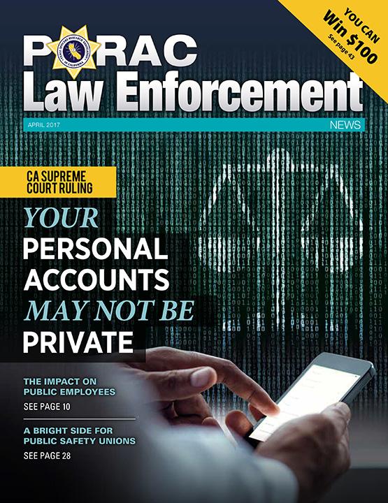 PORAC Law Enforcement News – April 2017