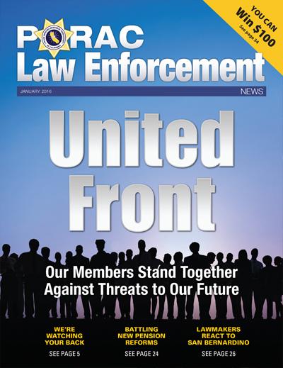 PORAC Law Enforcement News – January 2016