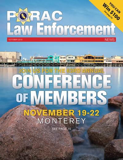 PORAC Law Enforcement News – October 2015