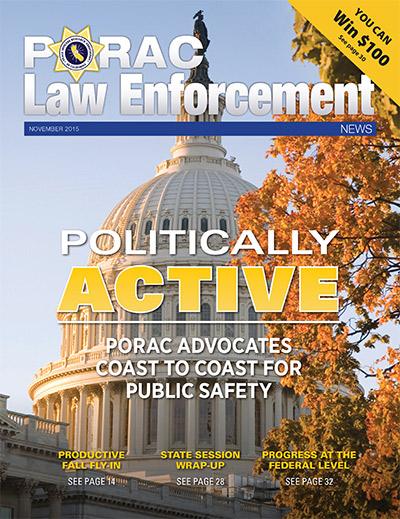 PORAC Law Enforcement News – November 2015