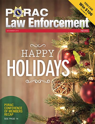 PORAC Law Enforcement News – December 2015