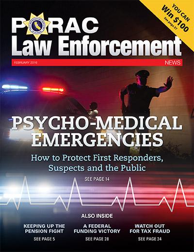 PORAC Law Enforcement News – February 2016