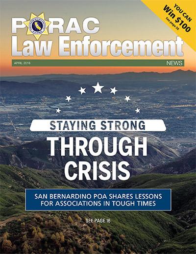 PORAC Law Enforcement News – April 2016