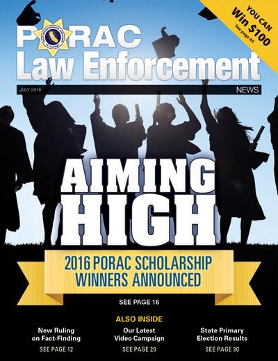 PORAC Law Enforcement News – July 2016