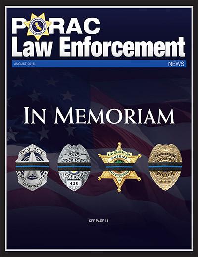 PORAC Law Enforcement News – August 2016