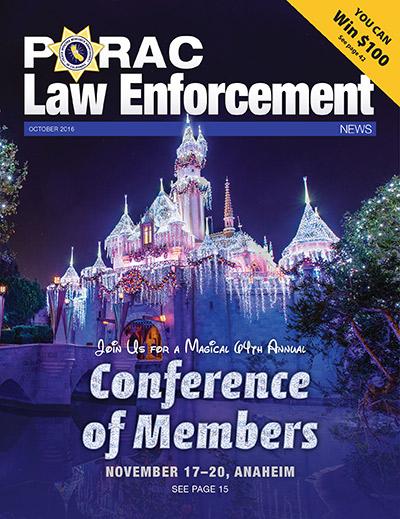 PORAC Law Enforcement News – October 2016