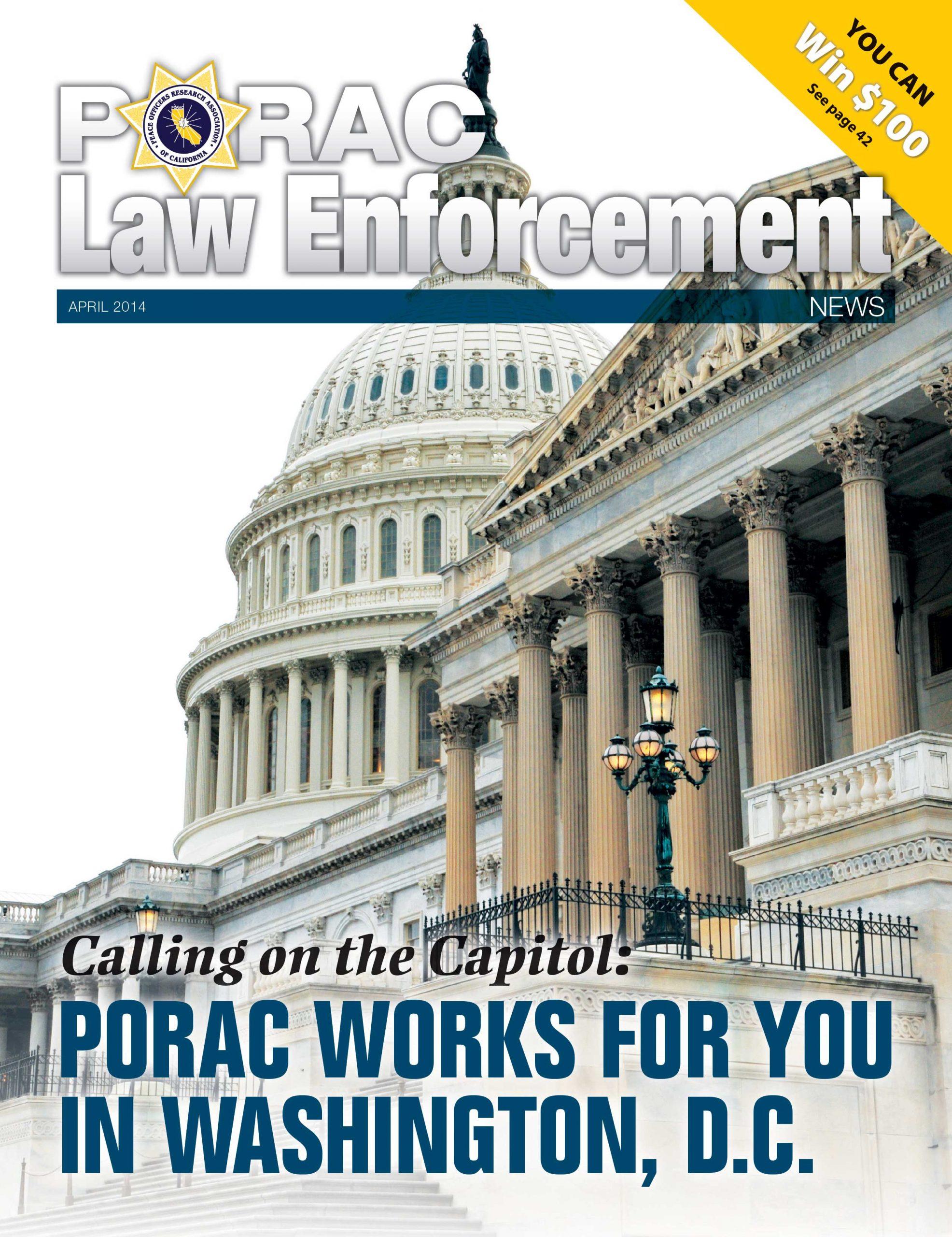 PORAC Law Enforcement News – April 2014
