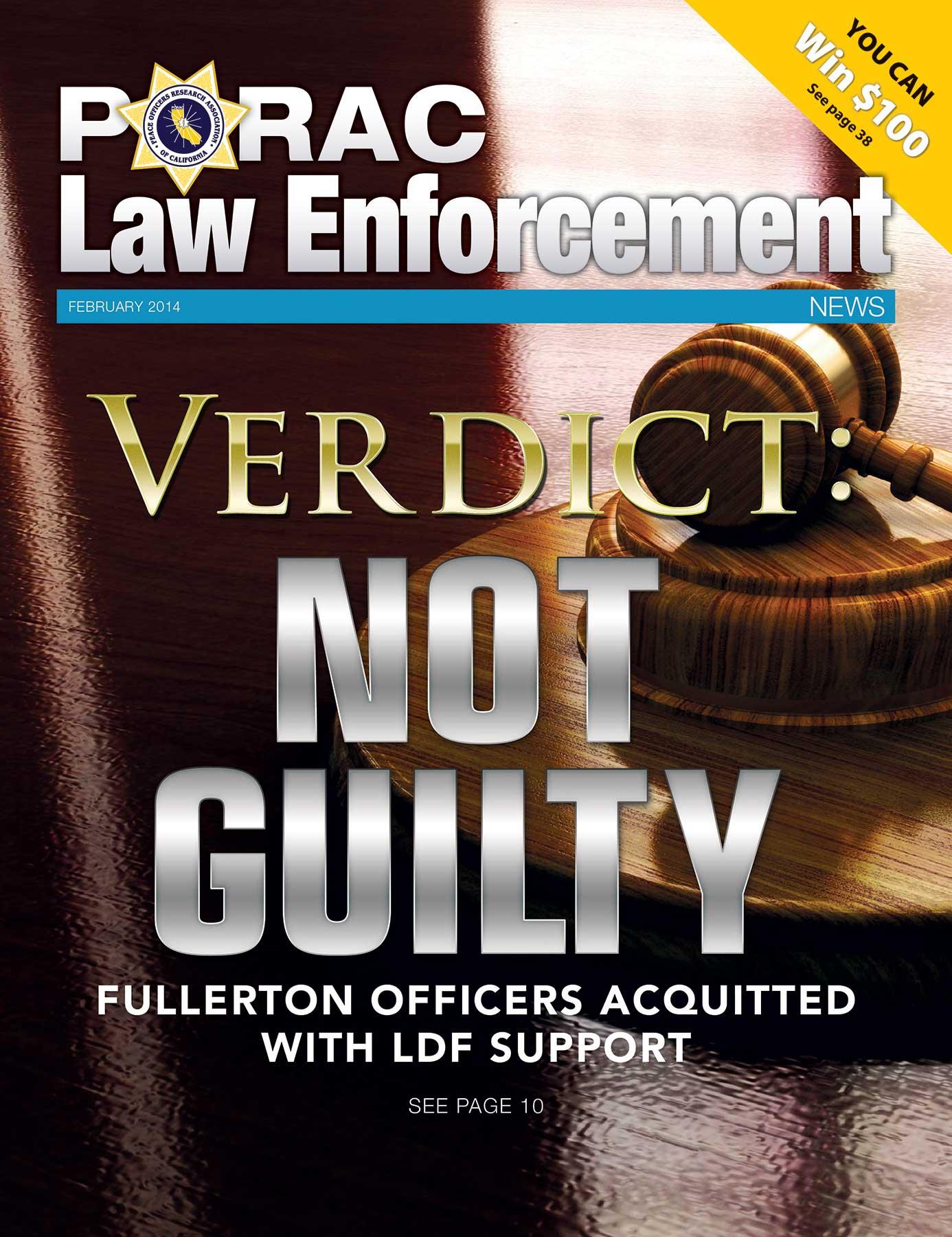 PORAC Law Enforcement News –  February 2014