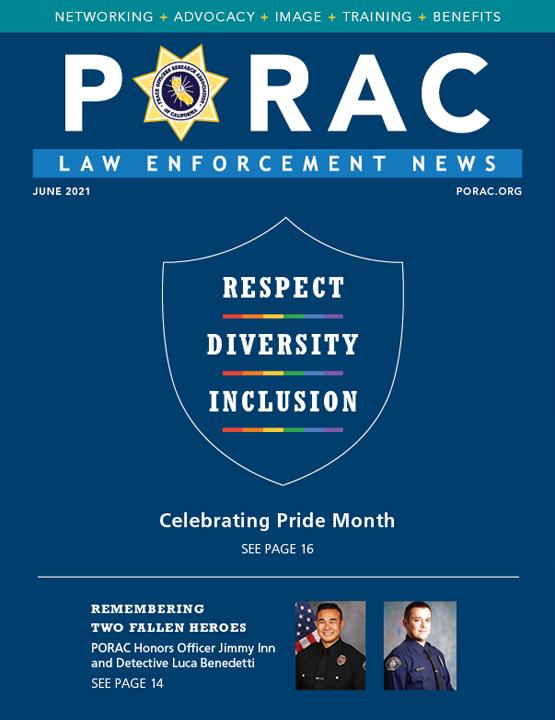 PORAC Law Enforcement News – June 2021