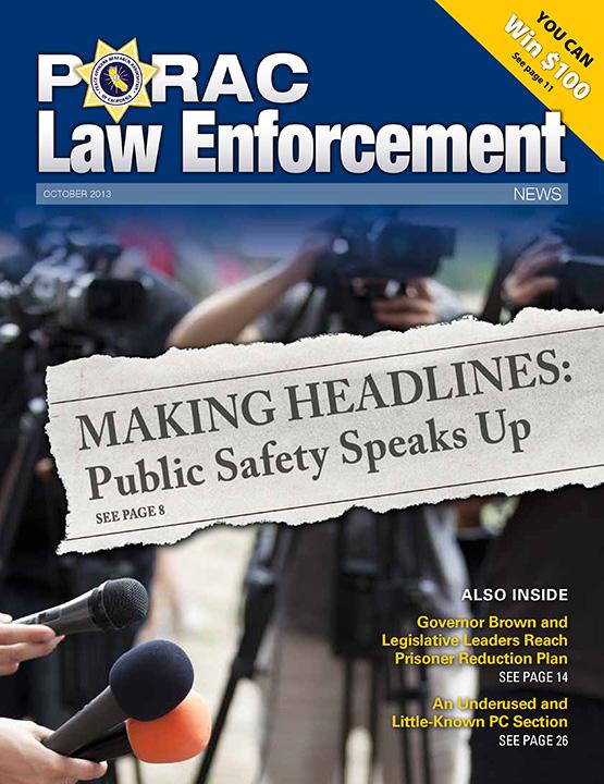 PORAC Law Enforcement News – October 2013