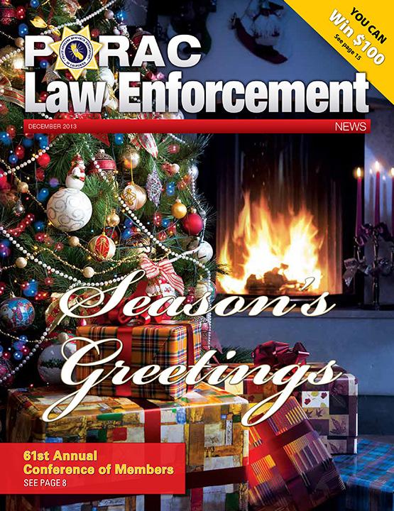 PORAC Law Enforcement News – December 2013