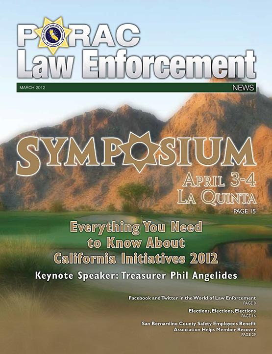 PORAC Law Enforcement News – March 2012