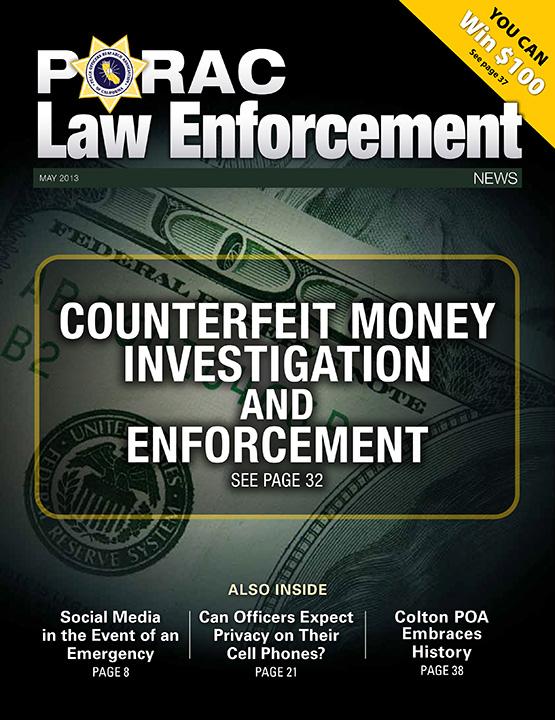 PORAC Law Enforcement News – May 2013