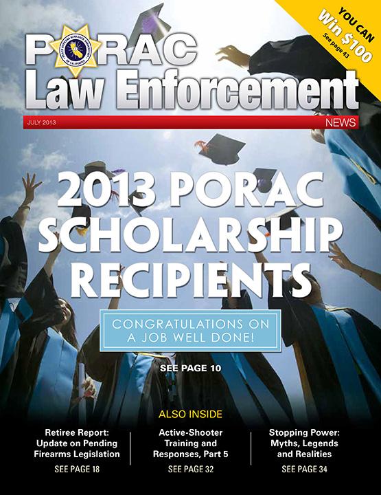 PORAC Law Enforcement News – July 2013